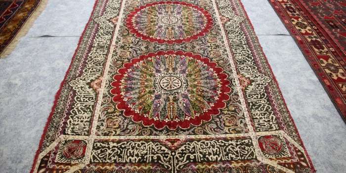 Beautiful colour Persian Rug