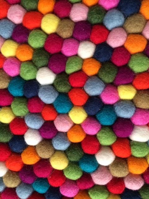 Cleaning A Felt Wool Ball Rug