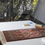 Rug cleaning hand cleaning