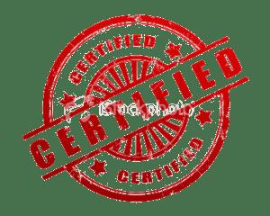 Devine are certified